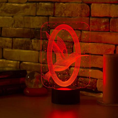 Art-Lamps Колибри и кольцо