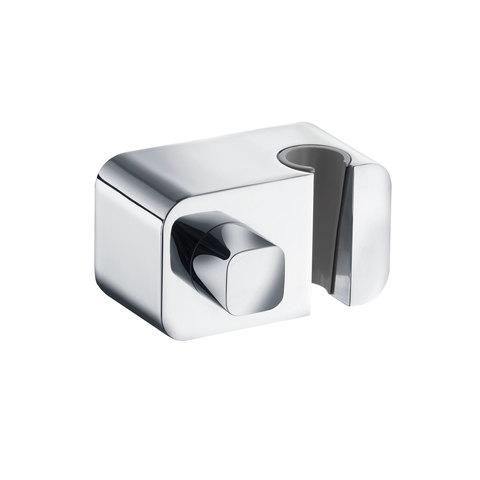KLUDI A-QA Соединение для шланга с запорным вентилем, с настенным держателем для душа, без обратного клапана