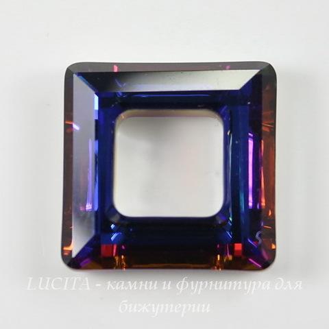 4439 Подвеска Сваровски Square Ring Crystal Volcano  (20 мм) ()