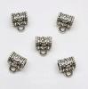 Бейл (цвет - античное серебро) 11х9х7 мм, 5 штук