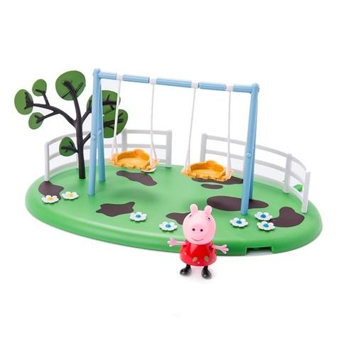 Игровой набор «Игровая площадка: Качели Пеппы», Peppa Pig