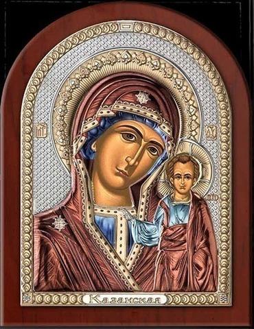 Икона Казанская Божья Матерь (21*26)