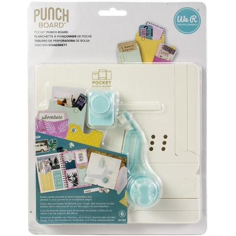 Доска для изготовления пакетов We R Memory Keepers Journal Pocket Punch Board