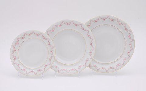 Набор тарелок 18 предметов Соната Leander