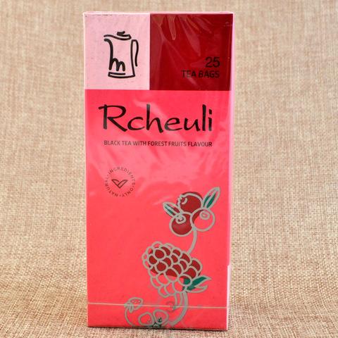 Чай черный с ароматом лесных ягод, Rcheuli, 45г, в пакетиках