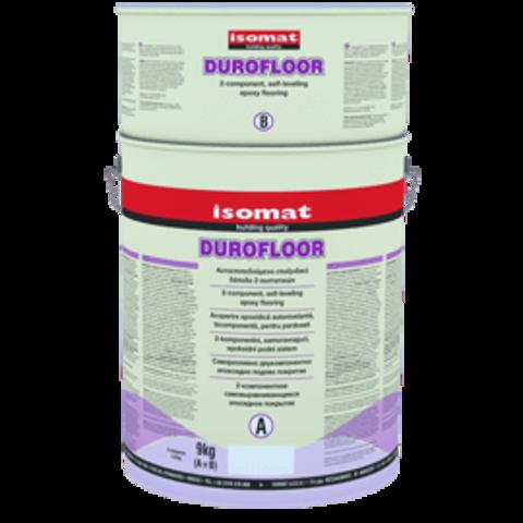 Isomat Durofloor/Изомат Дюрофлор двухкомпонентное эпоксидное самовыравнивающееся напольное покрытие