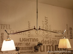 люстра Art Tolomeo Double Shade Pendant Lamp