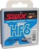 Парафин лыжный высокофтористый Swix HF06X-4 Blue -5C/-10C 40гр