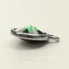 """Сеттинг - основа - подвеска TierraCast """"Грани"""" для страза 12 мм (цвет-античное серебро)"""