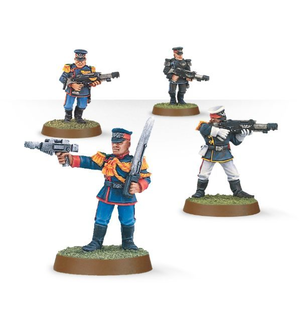 Mordian Iron Guard Squad