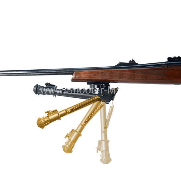 Сошки для оружия UTG на планку Picatinny, регулируемые, высота 15 - 20 см Leapers