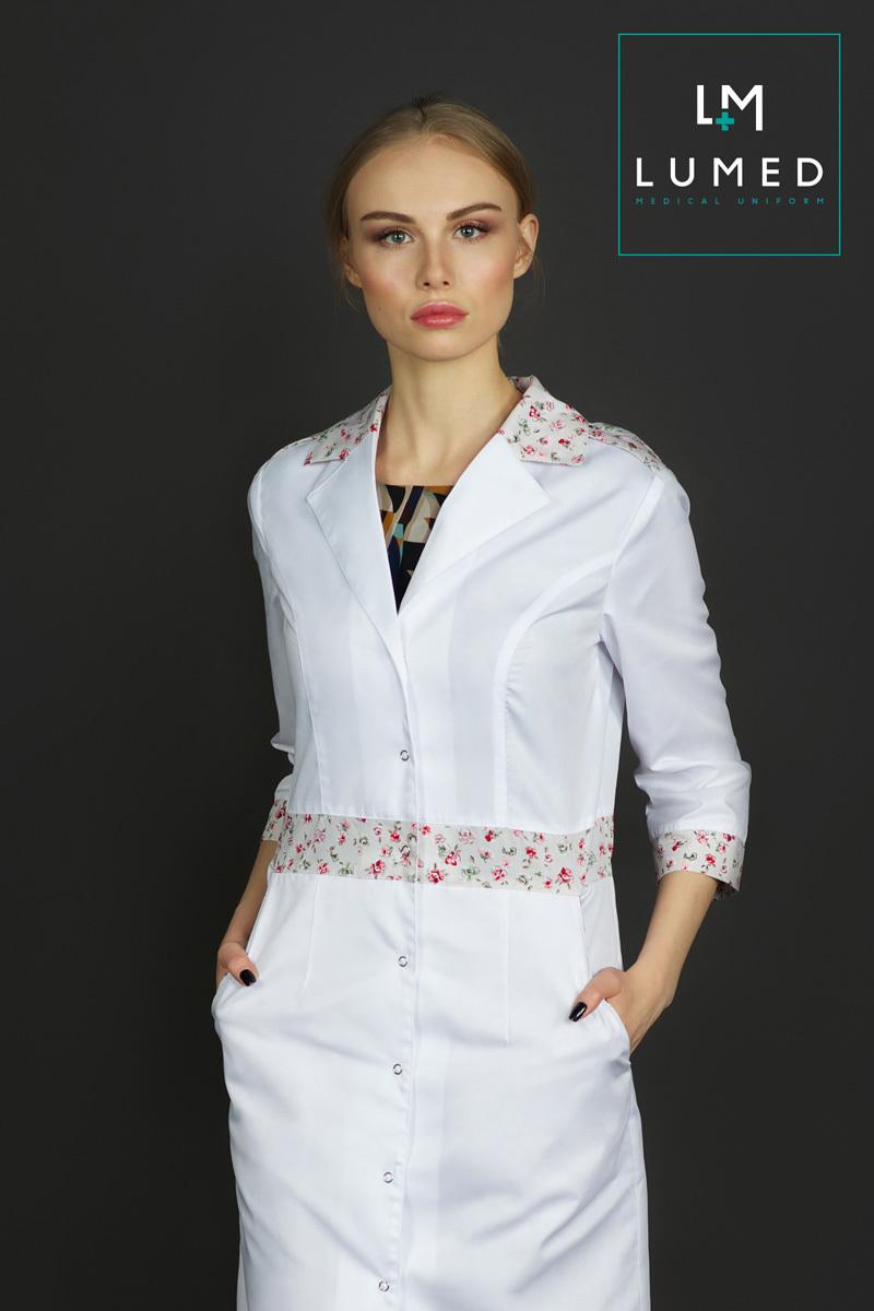Медицинский халат Lumed женский