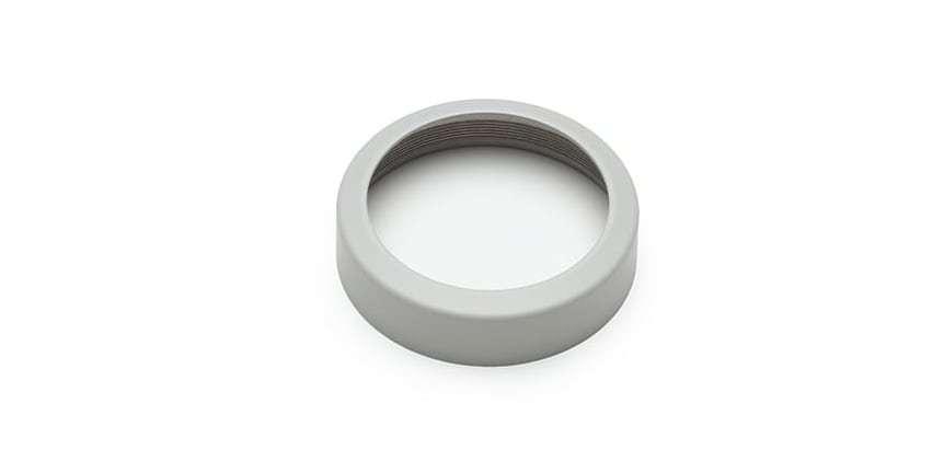 Оптический ультрафиолетовый фильтр DJI для Phantom 4 (Pro/Pro+) UV Filter (Part72) вид сбоку