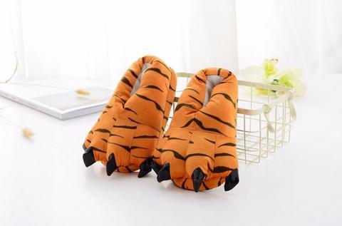 Тапочки когти тигр