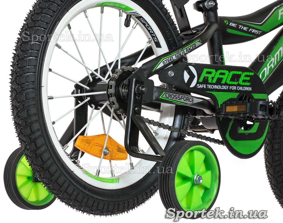 Боковые колеса детского 4-х колесного велосипеда Formula Race (Формула Рейс)