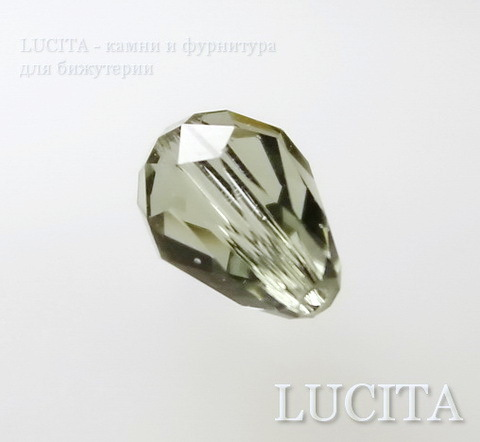 5500 Бусина - капля Сваровски Black Diamond 9х6 мм (3)