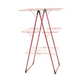 Трехъярусная напольная сушилка (23 м навески), Красный, арт. 477867 - превью 1