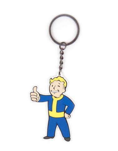 Резиновый брелок Fallout Vault-boy одобряет