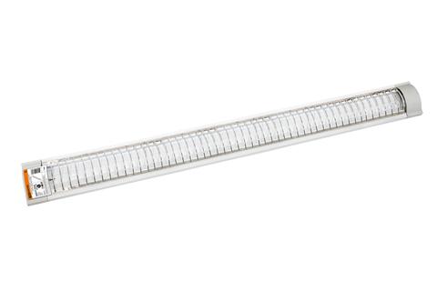 Светильник ЛПО3017 (с решёткой) 2х36 Вт 230В Т8/G13 TDM