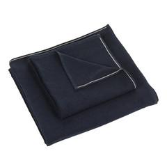 Полотенце 100х150 Hamam Qashmare Contrast синее