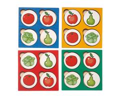 Запоминалки Овощи-фрукты, Smile decor, вид