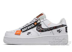 Кроссовки Nike Air Force 1 Just Do It Pack White