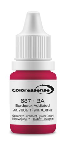 Bordeaux Addicted • 2,5 мл • Coloressense • пигмент-концентрат для губ • BA