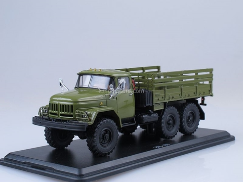 ZIL-131 flatbed truck green 1:43 Start Scale Models (SSM)