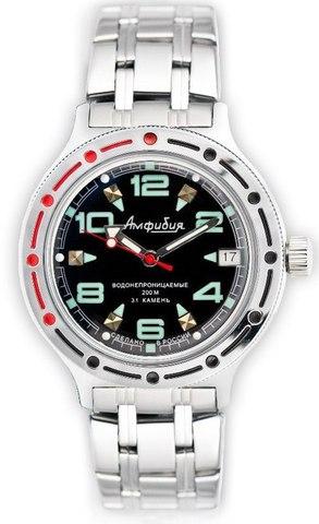 """Купить Наручные часы Восток """"Амфибия"""" 420334 по доступной цене"""