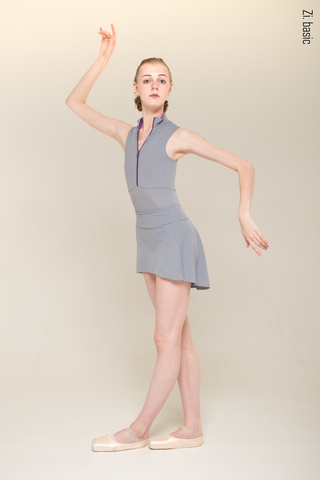 The Skirt Stretches (gray)