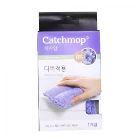 Чистящая губка, универсальная, 9x16x4,2хсм, фиолетовый CATCHMOP