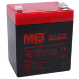 Аккумулятор для ИБП MNB HR1221W (12V 5Ah / 12В 5Ач) - фотография