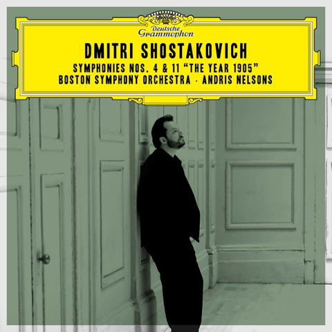 Andris Nelsons, Boston Symphony Orchestra / Shostakovich: Symphonies Nos. 4 & 11, The Year 1905 (2CD)