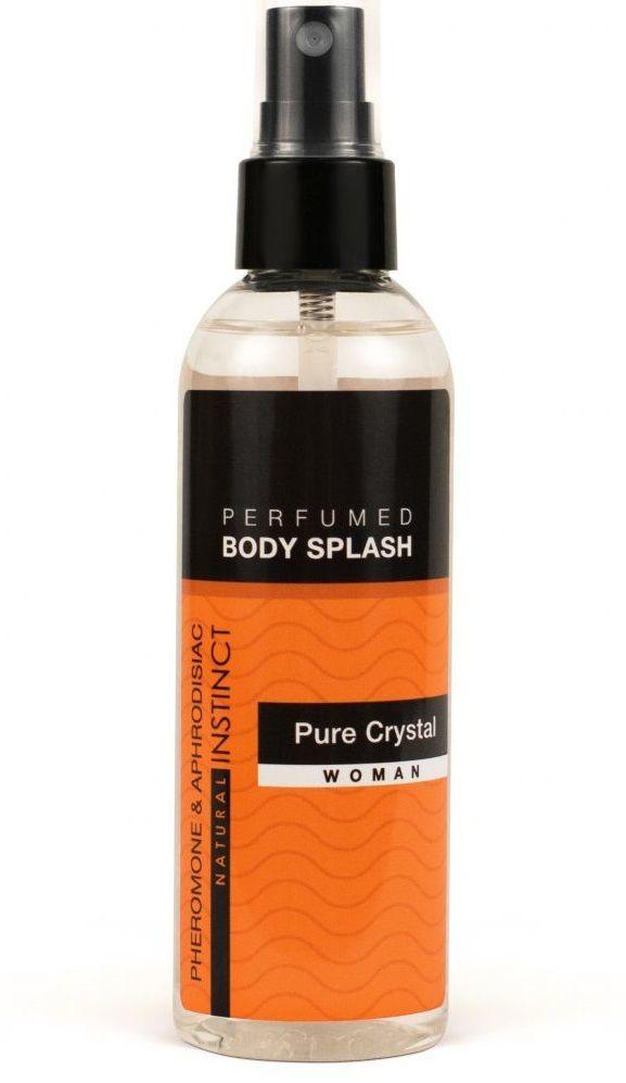 Духи и смазки для женщин: Женский спрей для тела с феромонами Pure Crystal - 100 мл.