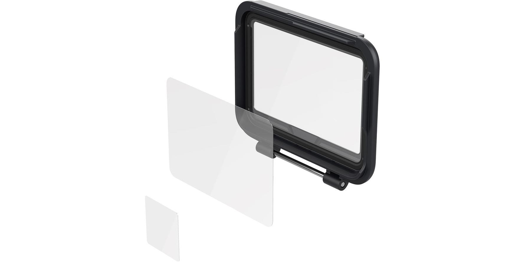 Защитные пленки для ЖК экрана GoPro Screen Protector (AAPTC-001) фото сбоку