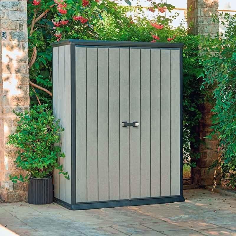 Хранение садового инвентаря Уличный ящик-шкаф High Store high-store__1_.jpg