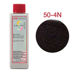 CHI Ionic Shine Shades Liquid Color 50-4N (Средне-коричневый) - Жидкая краска для волос