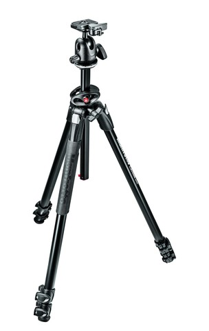 Штатив Manfrotto 290 Dual 3 Sections Aluminium Tripod With 496RC2 Ball Head MK290DUA3 BH