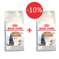 2 кг + 2 кг - 10% Royal Canin Ageing Sterilised 12+