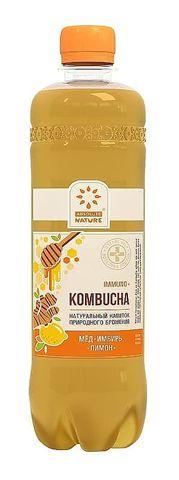 Комбуча Immuno Absolute Nature (имбирь, мед, лимон), 0,5 мл