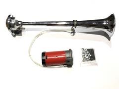 Сигнал труба 1 рожок средняя+мотор 400мм (JS-A14 12V)