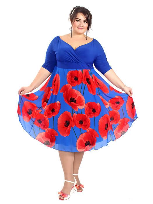 Платье Весенние маки