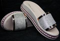 Модные шлепанцы женские Kluchini 5259T189 SR.