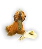 Готическое платье - Горчичный. Одежда для кукол, пупсов и мягких игрушек.