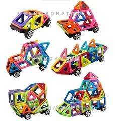 Магнитный конструктор 102 детали Liqi-Toys