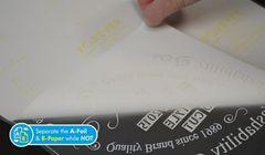 Трансферная бумага Forever Laser-Dark No-Cut LowTemp А-Foil, формат A4XL (208x416mm)
