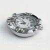 Основа для часов (цвет - платина) 31х27х7 мм