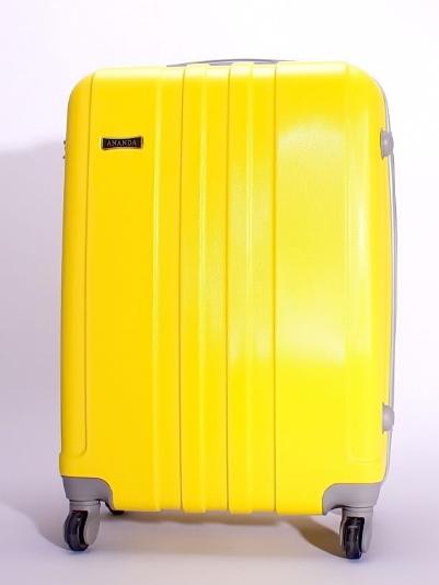Чемодан Ananda 533 Желтый L