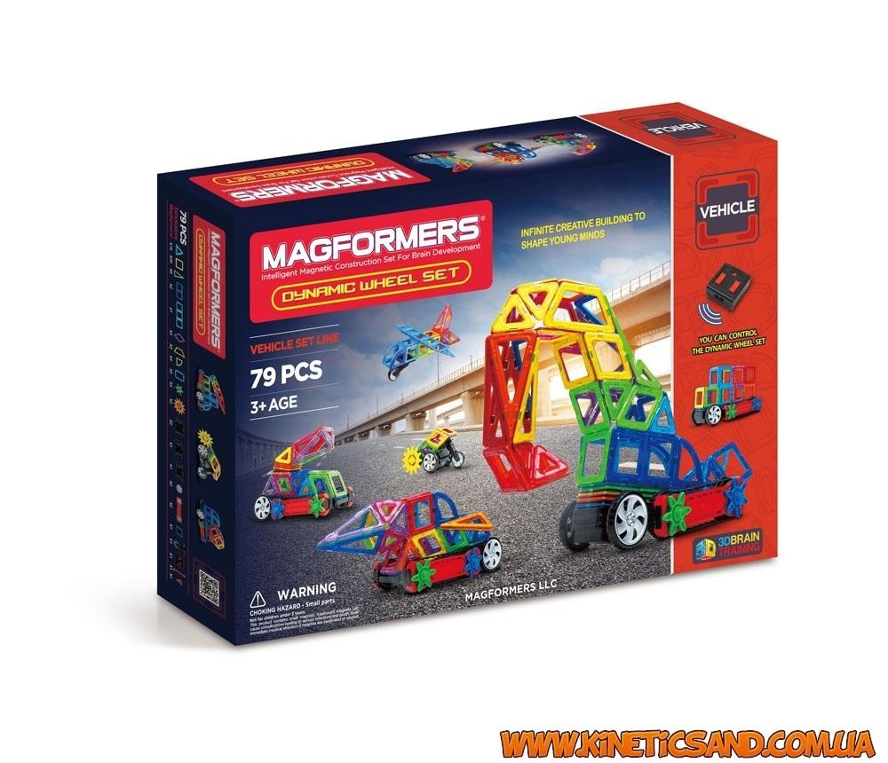 Magformers Динамические колеса, 79 элементов
