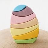 Стеккер Яйцо пастельное